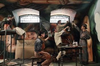 Tp pel cula el mural de siqueiros movie el mural for El mural de siqueiros en argentina