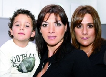 Anuar, Lisette y Karla Chedraui. -  - Puebla
