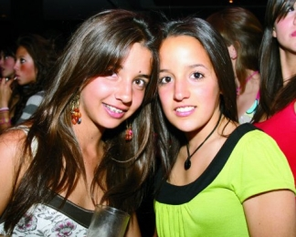 Dany Bello y Jessica Bojalil.  -  - Puebla
