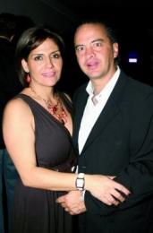 Denisse y Armando Nader.  -  - Puebla