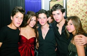 Osbaldo, Sary, Omar, Daniel y Ximena.  -  - Puebla