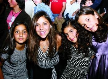 Michelle, Mariana, Nadia y Juliet.  -  - Puebla
