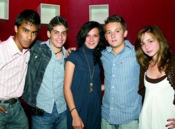 Migue, José, Ana, Sebas y Dany.   -  - Puebla