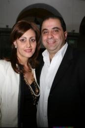 Marianne y Francisco Sidaoui.   -  - Puebla