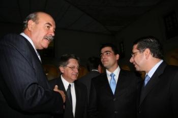Armando Prida, Fernando Trillas, Armando Prida y Enrique Doger.  -  - Puebla