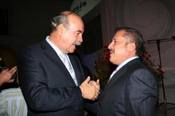 Armando Prida y Enrique Agüera.   -  - Puebla