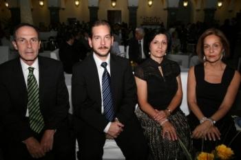 Jesús Galera, Lander Trillas, Gloria Mayo y Tere Ferrer.  -  - Puebla