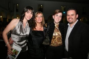 Yazmín Budid, Maribel Limón, Fernanda Diez y José Bustos. -  - Puebla