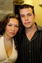 Fabiola Castilla y Eduardo Camacho.  -  - Puebla