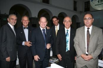 Alejandro Dávila, Fernando García Limón, Julio Medina Morales, Arturo Sánchez Roldán, Alejandro Cañe...