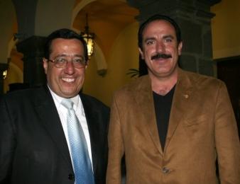 Carlos Ortiz Rosas y Antonio Garay Orea.  -  - Puebla