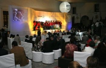 El coro de Cinia.   -  - Puebla