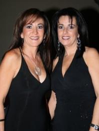 Olivia y Mónica Rivera.   -  - Puebla
