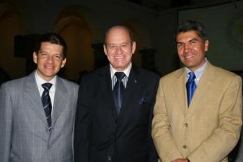 Antonio Torres Mota Velasco, Julio Medina Morales y Alberto Ramírez y Ramírez.    -  - Puebla