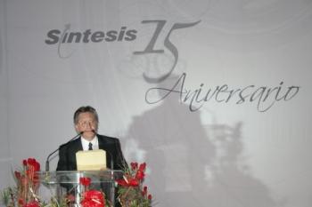 Fernardo Trillas expresó sus felicitaciones a Síntesis.   -  - Puebla