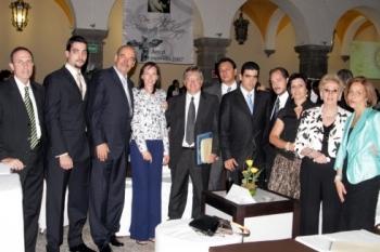 Distinguidos invitados fueron parte del festejo.  -  - Puebla