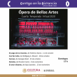 Cuarta Temporada Virtual de Ópera de Bellas Artes