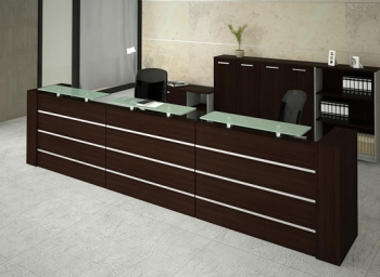 Tp fotos de mesas de juntas y recepciones imagen de tu for Recepcion oficina moderna